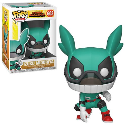 My Hero Academia S3 Pop! Vinyl Figure Deku with Helmet [603] - Fugitive Toys