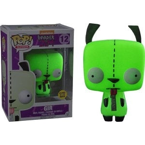 Invader Zim Pop! Vinyl Figure Gir (Glow in the Dark) [12] - Fugitive Toys