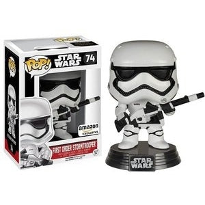 Star Wars Pop! Vinyl Figure First Order Stormtrooper (Heavy Artilery) [74]