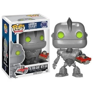 The Iron Giant Pop! Vinyl Figure The Iron Giant with Car [244] - Fugitive Toys