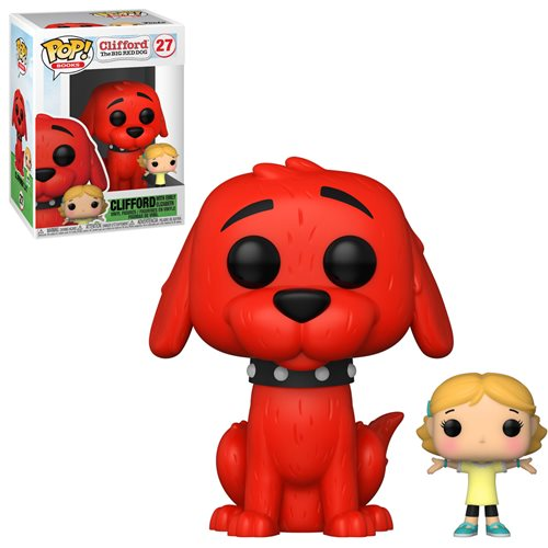 Books Pop! Vinyl Figure Clifford The Big Red Dog with Emily [27]