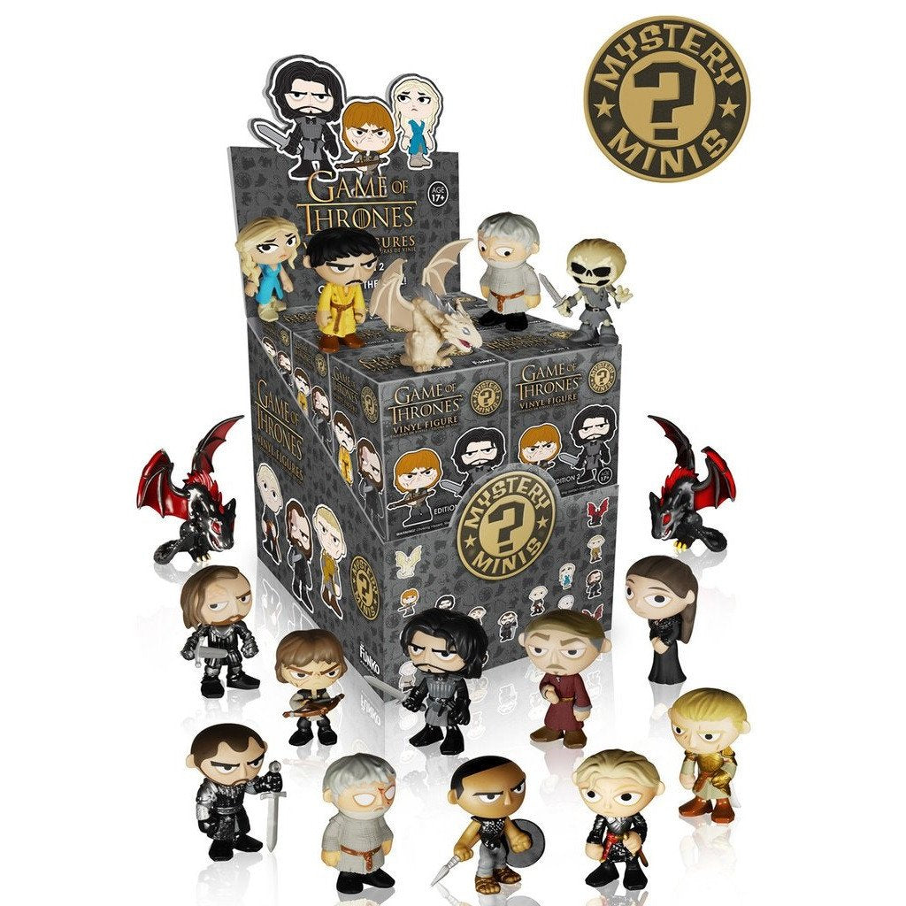 Game of Thrones Mystery Minis Edition 2: (1 Blind Box) - Fugitive Toys