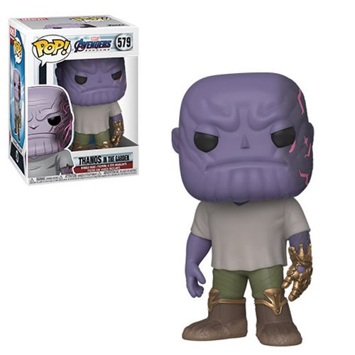 Avengers Endgame Pop! Vinyl Figure Casual Thanos with Gauntlet [579] - Fugitive Toys