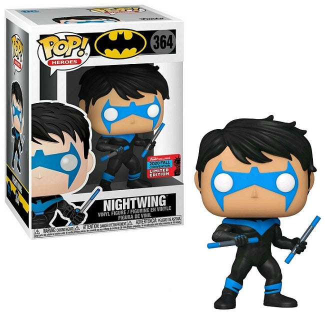 DC Pop! Vinyl Figure Nightwing with Escrima Sticks (2020 Fall Convention) [364]
