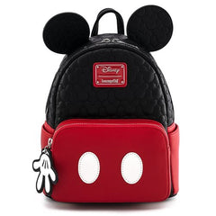 Loungefly x Disney Mickey Mouse Oh Boy! Quilted Mini Backpack - Fugitive Toys