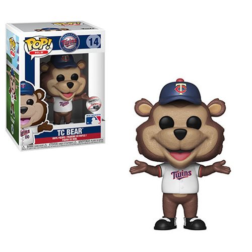 MLB Mascots Pop! Vinyl Figure T.C. Bear [Minnesota Twins] [14] - Fugitive Toys