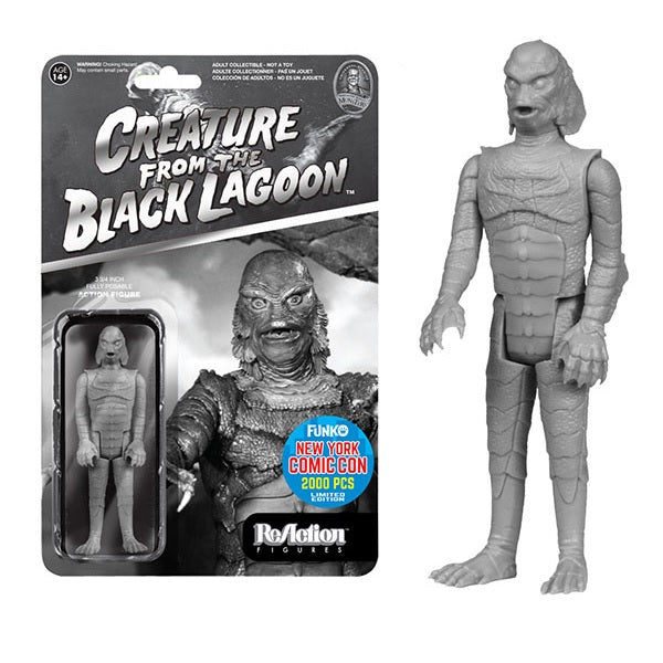 Creature from the Black Lagoon ReAction Figure: Black & White Creature [NYCC 2015 Exclusive] - Fugitive Toys