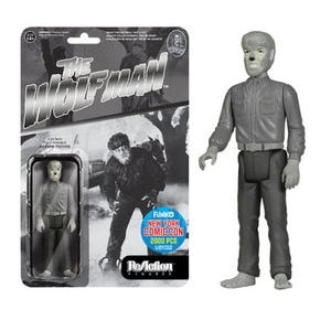 The Wolf Man ReAction Figure: The Wolf Man (Black and White) [NYCC 2015 Exclusive] - Fugitive Toys