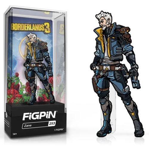 Borderlands 3: FiGPiN Enamel Pin Zane [253] - Fugitive Toys