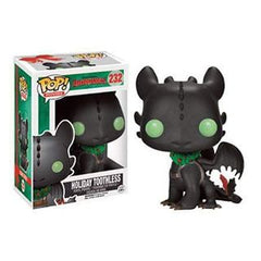 Movies Pop! Vinyl Figure Holiday Toothless [How To Train Your Dragon 2] - Fugitive Toys