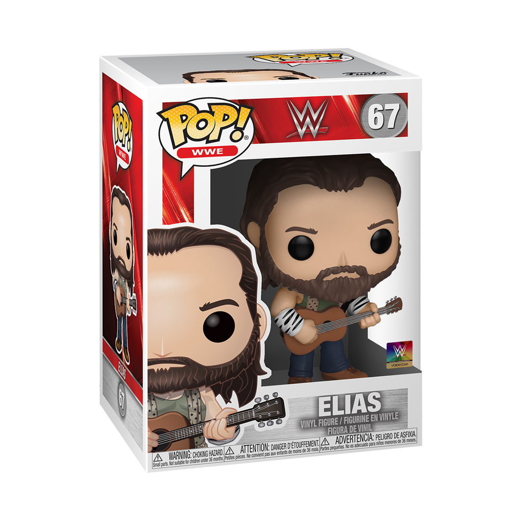 WWE Pop! Vinyl Figure Elias with Guitar [67]