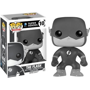 DC Super Heroes Pop! Vinyl Figures Black and White The Flash [10]