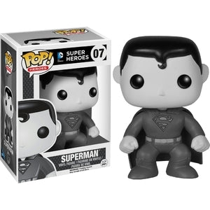 DC Super Heroes Pop! Vinyl Figures Black and White Superman [7] - Fugitive Toys