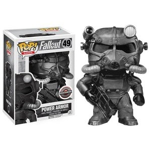 Fallout 4 Pop! Vinyl Figures Black and White Power Armor [49]