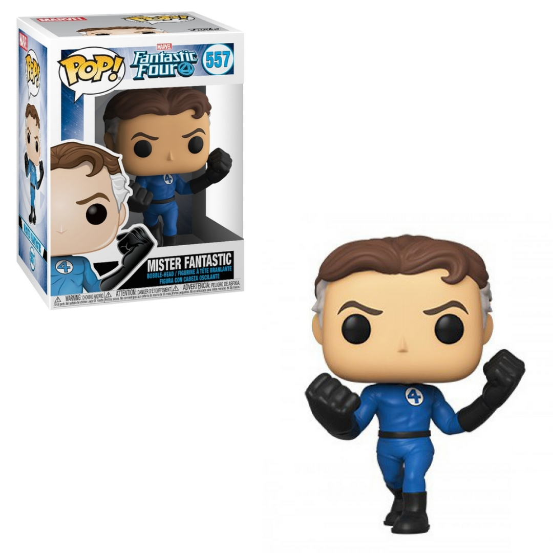 Fantastic Four Pop! Vinyl Figure Mister Fantastic [557] - Fugitive Toys