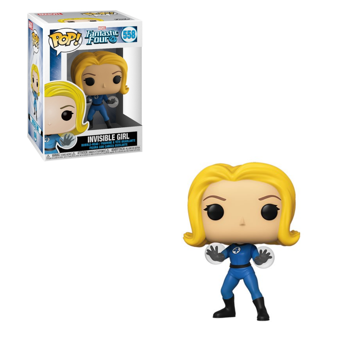 Fantastic Four Pop! Vinyl Figure Invisible Girl [558] - Fugitive Toys