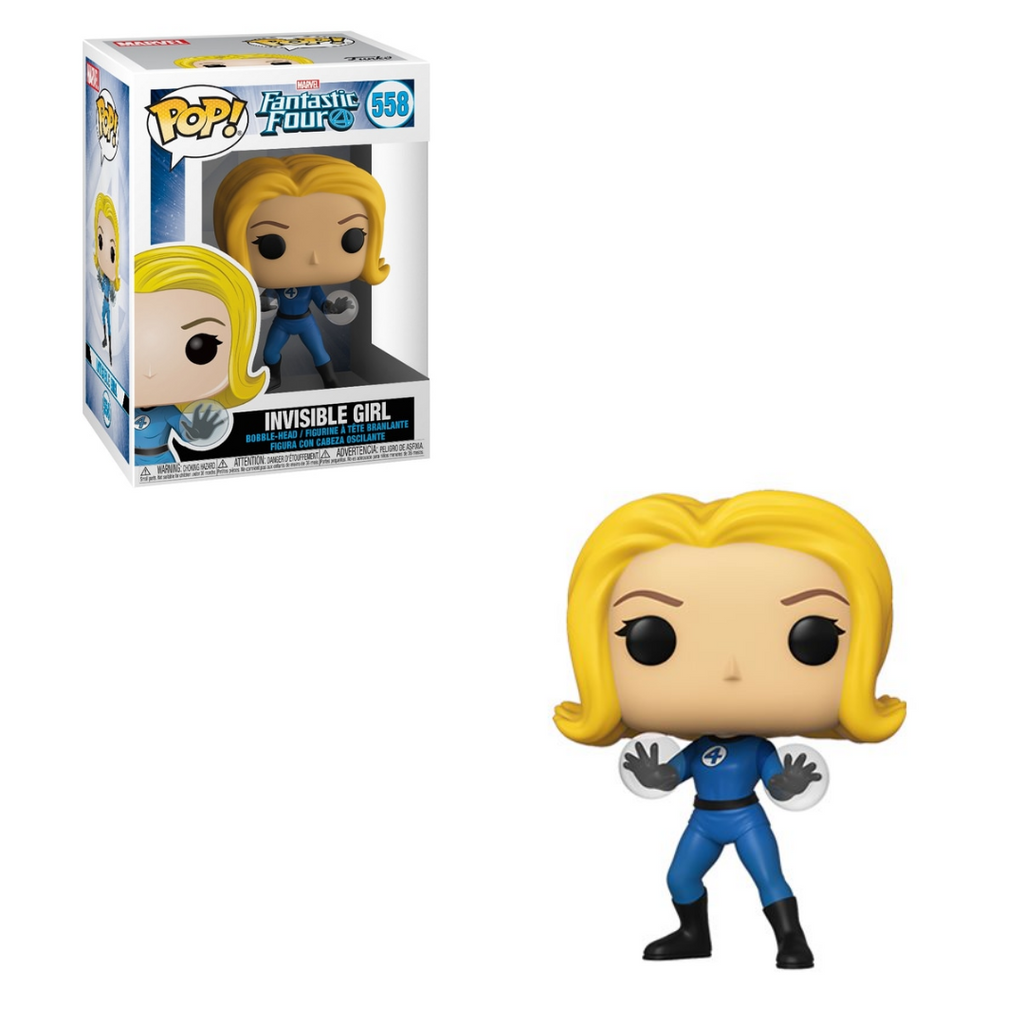 Fantastic Four Pop! Vinyl Figure Invisible Girl [558]