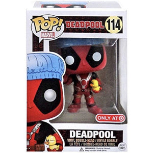 Deadpool Pop! Vinyl Figures Movie Bath Time Deadpool [114] - Fugitive Toys