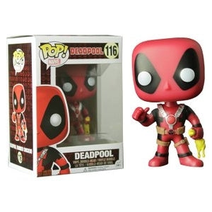 Deadpool Pop! Vinyl Figures Rubber Chicken Deadpool [116]