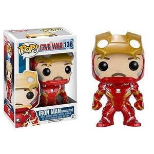 Captain America: Civil War Pop! Vinyl Figures Unmasked Iron Man [136]