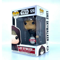 Star Wars Pop! Vinyl Figure Luke Skywalker (Hood) [126] - Fugitive Toys