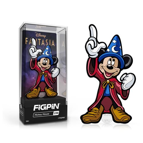Disney's Fantasia: FiGPiN Enamel Pin Mickey Mouse [236]