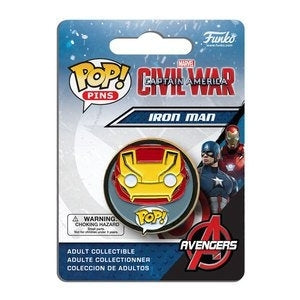 Captain America: Civil War Pop! Pins Iron Man - Fugitive Toys