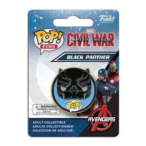 Captain America: Civil War Pop! Pins Black Panther - Fugitive Toys