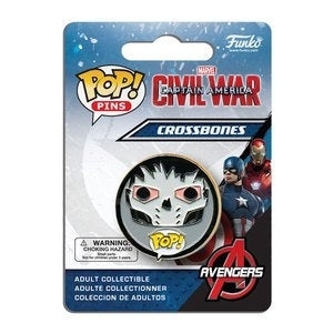 Captain America: Civil War Pop! Pins Crossbones