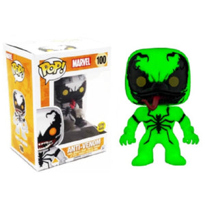 Marvel Pop! Vinyl Figures Glow in the Dark Anti-Venom [100]