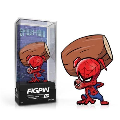 Into the Spider-Verse: FiGPiN Enamel Pin Spider-Ham [320] - Fugitive Toys