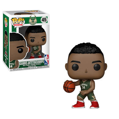 NBA Pop! Vinyl Figure Giannis Antetokounmpo [Milwaukee Bucks] [45]