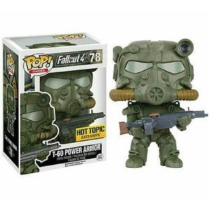 Fallout 4 Pop! Vinyl Figures Green T-60 Power Armor [78]