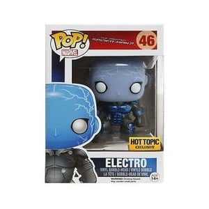Marvel The Amazing Spider-Man 2 Pop! Vinyl Figure Electro (Glow In The Dark) (Metallic) [46] - Fugitive Toys