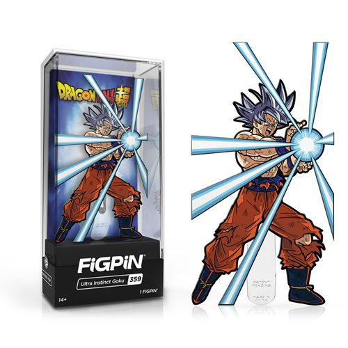Dragon Ball Z: FiGPiN Enamel Pin Ultra Instinct Goku [359]