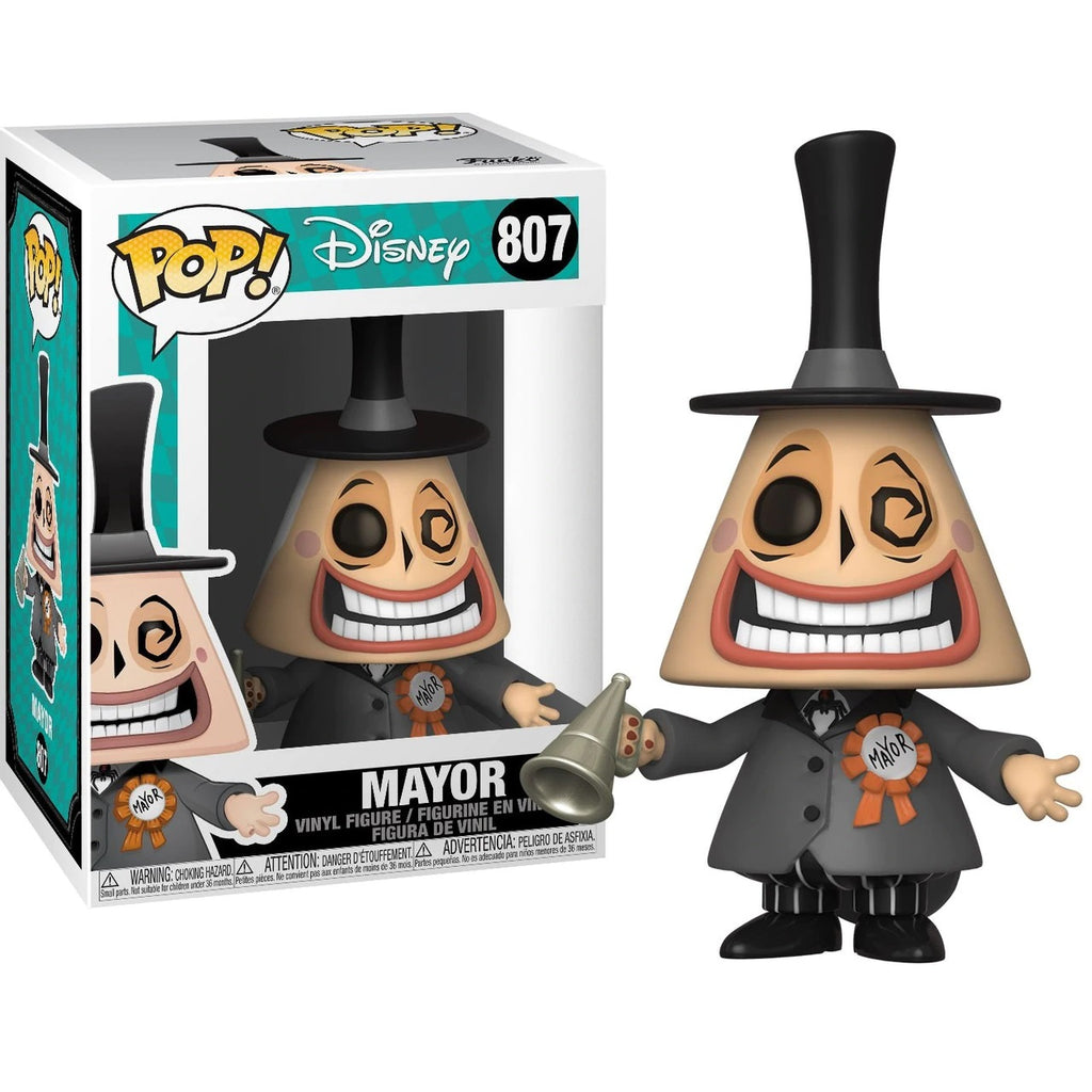 The Nightmare Before Christmas Pop! Vinyl Figure Mayor With Megaphone [807]