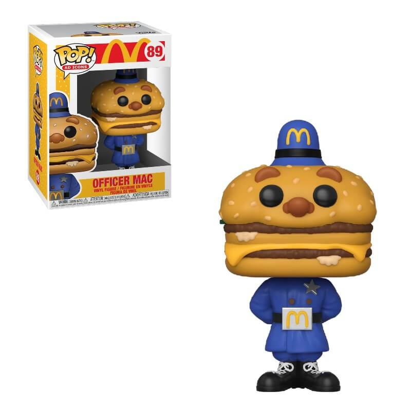 Ad Icons Pop! Vinyl Figure McDonald's Officer Mac [89]