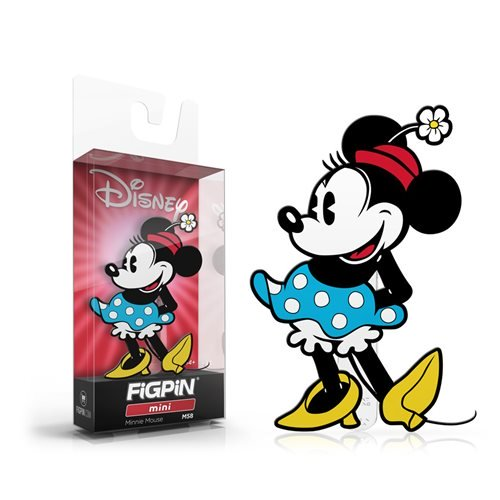 Disney: FiGPiN Mini Enamel Pin Minnie Mouse [M58] - Fugitive Toys