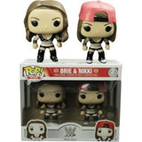 WWE Pop! Vinyl Figure Brie and Nikki Bella Twins Black Uniform [2-pack] - Fugitive Toys