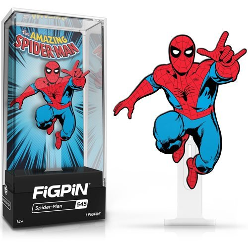 Marvel Classics: FiGPiN Enamel Pin The Amazing Spider-Man [545]
