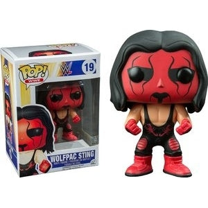 WWE Pop! Vinyl Figure Wolfpac Sting [19] - Fugitive Toys