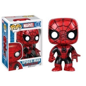 Marvel Pop! Vinyl Figure Spider-Man (Red and Black) [03] - Fugitive Toys