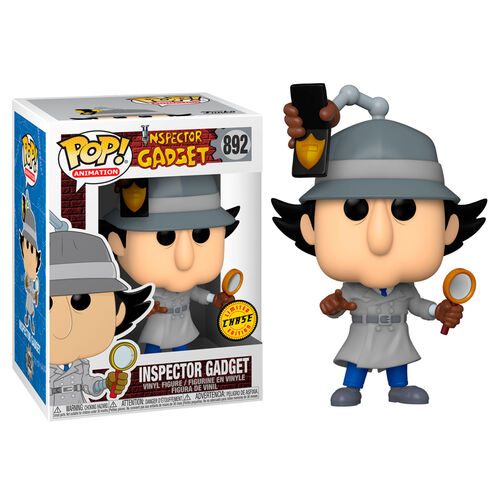 Inspector Gadget Pop! Vinyl Figure Inspector Gadget with Badge (Chase) [892]