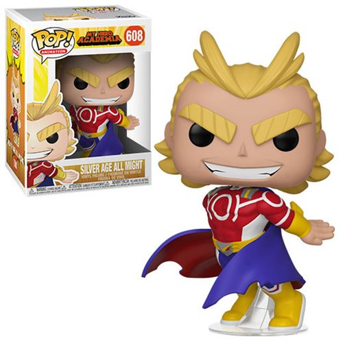 My Hero Academia S3 Pop! Vinyl Figure All Might (Silver Age) [608]