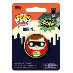 DC Universe Pop! Pins Robin (Classic TV) - Fugitive Toys