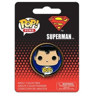 DC Universe Pop! Pins Superman