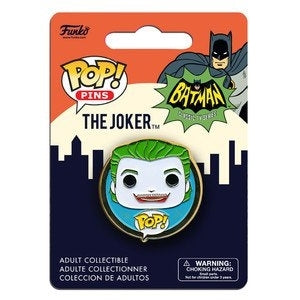 DC Universe Pop! Pins The Joker (Classic TV)