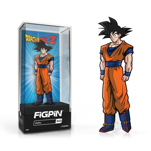 Dragon Ball Z: FiGPiN Enamel Pin Goku [343]