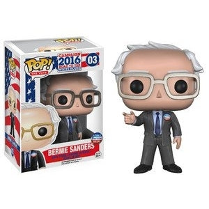 Campaign 2016: Road To The White House Pop! Vinyl Figure Bernie Sanders [03] - Fugitive Toys