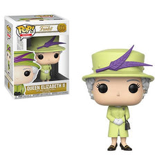 Royals Pop! Vinyl Figure Queen Elizabeth II Green [01]